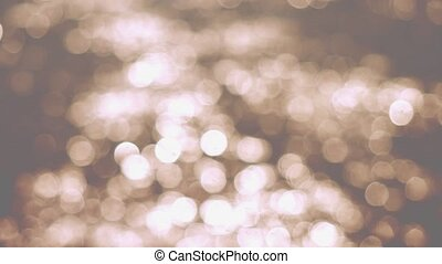 Beautiful abstract glittering lights bokeh Christmas background.