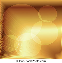 Beautiful abstract golden