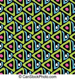 beautiful abstract graffiti seamless pattern on a black background