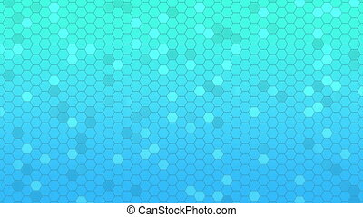 Beautiful Abstract Hexagonal Background