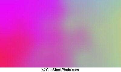 Beautiful Abstract Holographic Gradient Rainbow Flowing Animation Seamless. Looped Fluid Gradient Trendy Vivid Neon Colors Motion Graphics Modern Background. 4k Ultra HD 3840x2160.