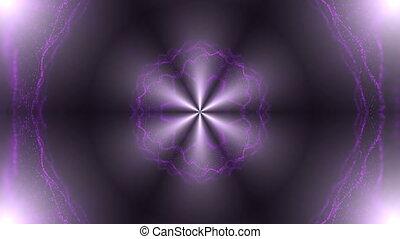 Beautiful abstract kaleidoscope - fractal flower, 3d render...
