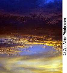beautiful abstract nightly sky