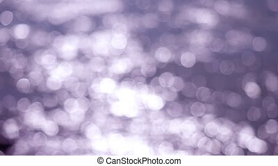 Beautiful abstract purple glittering lights bokeh background. 3840x2160