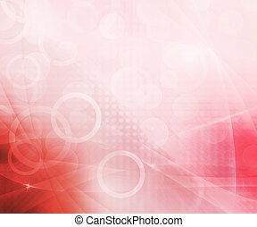 Beautiful Abstract Red Background