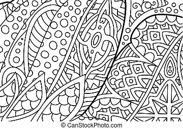 Free Printable Zentangle Coloring Pages, Download Free Clip Art ... | 194x270
