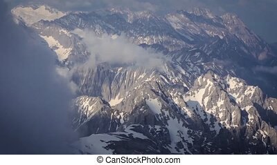 Beautiful Aerial View of The Mountains