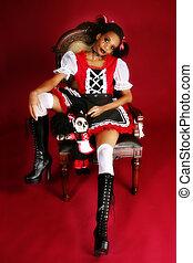 Anime Goth Doll