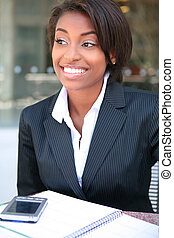 Beautiful African Business Woman