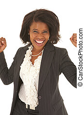 Beautiful African businesswoman - Portrait of a beautiful...