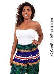 Beautiful african teenage girl