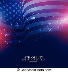 beautiful american flag background