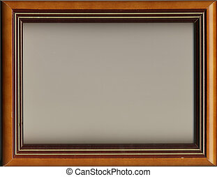 beautiful ancient frame for a picture