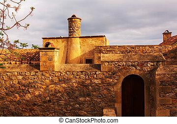 Monemvasia - Beautiful ancient town Monemvasia, Greece