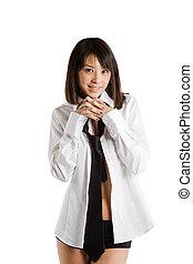 Beautiful and sexy asian girl