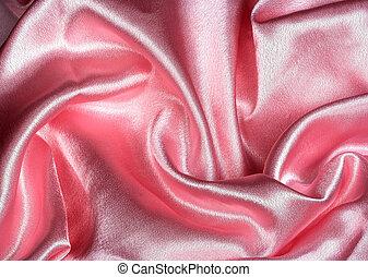 pink satin background