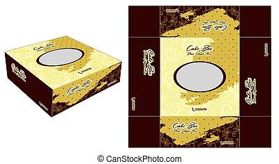 Beautiful And Unique Cake Box