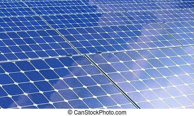 Beautiful Animation of Solar Panels
