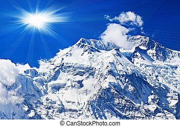 Annapurna mountain, Himalaya - Beautiful Annapurna mountain,...