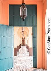 beautiful architecture morocco style