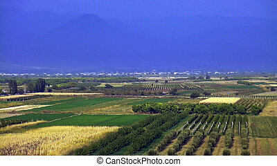 Beautiful Armenian landscape,Transcaucasia,Armenia.
