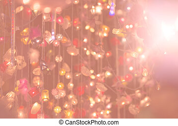 Beautiful art abstract bokeh background