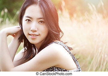 Beautiful asian woman - A portrait of a beautiful asian...