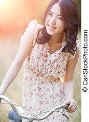 Beautiful asian woman - A portrait of a beautiful asian...