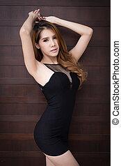 Beautiful asian woman - Young beautiful asian woman model