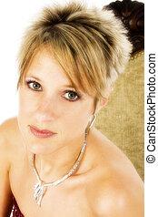 Beautiful at Thirty - Close up of beautiful 30 year old ...