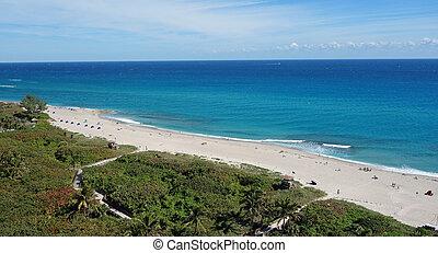Beautiful Atlantic Ocean and beach