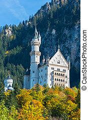 the Neuschwanstein castle Bavaria