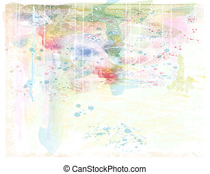 beautiful background. Imitation of watercolor painting.