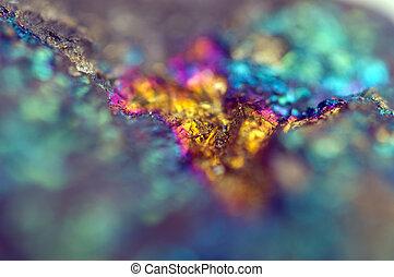 Beautiful background . Jewel ore. Macro. Extreme closeup