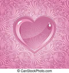 beautiful background on Valentine's Day