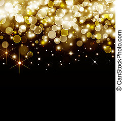 background with stars, bokeh
