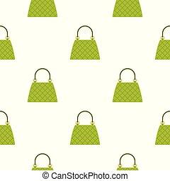 Beautiful bag pattern seamless