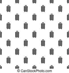 Beautiful bag pattern seamless in simple style vector illustration