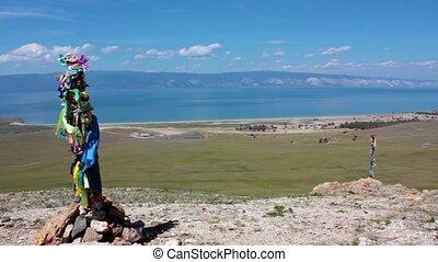 Beautiful Baikal view, landscape, Olkhon island, Baikal, Siberia, Russia