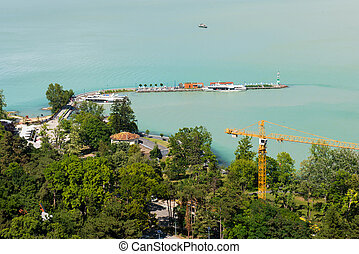 Beautiful Balaton lake Hungary - Balaton lake - Hungary