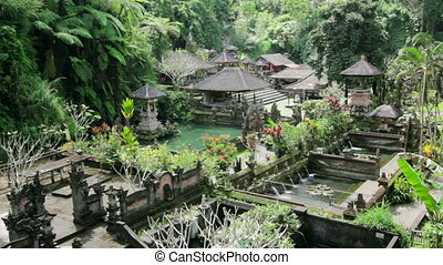 beautiful balinese temple