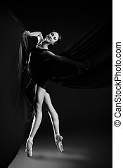 beautiful ballerina - Graceful beautiful ballet dancer...