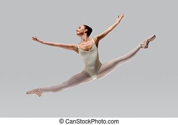 Beautiful ballet - Professional female ballet dancer...