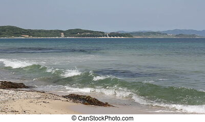 Beautiful beach and sea (1920x1080/