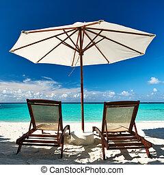 Beautiful beach at Maldives, South Male Atoll