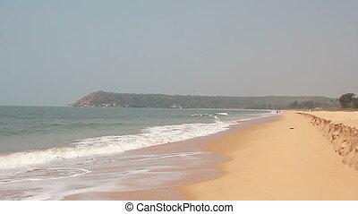 Beautiful beach in Goa