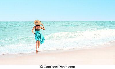 Beautiful beach in the Thailand