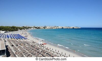 Beautiful beach of Torre dell'Orso - The beautiful beach of ...