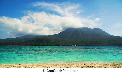 Beautiful beach on tropical island.Camiguin, Philippines....