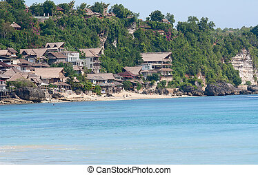 beautiful beach - beautiful balinese Dreamland beach popular...